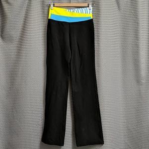 Lululemon Astro Pants Size 4 Black Blue Yoga